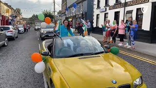 Cavan gives a hero's welcome to Leona Maguire