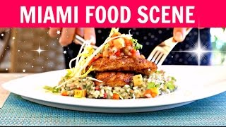 Miami Beach Food Scene