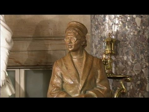 Rosa Parks Immortalized With Statue At U.S. Capitol
