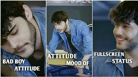 Attitude Fullscreen whatsapp status   English Video Status   Attitude Status   Bad Boy Status   St