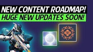 Destiny 2 News - Development Roadmap! Season 3, DLC 2 Date, Masterworks, Vault Space & More!