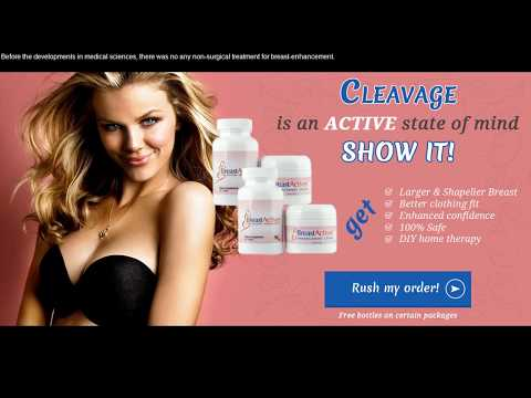 Breast Actives Review - Does this Natural Breast Enhancement