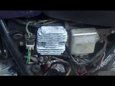 goldwing gl1800 wiring diagram kymco agility 50 how to diagnose and repair motorcycle charging problems youtube