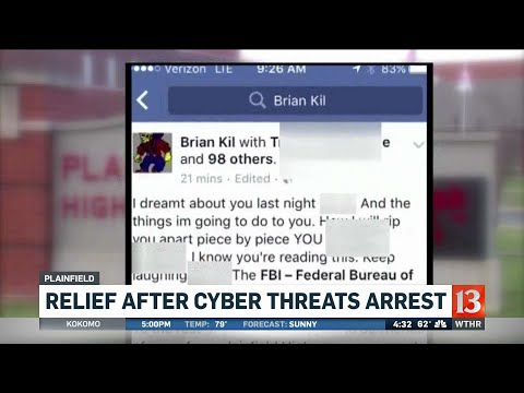 California man arrested for Plainfield cyber threats
