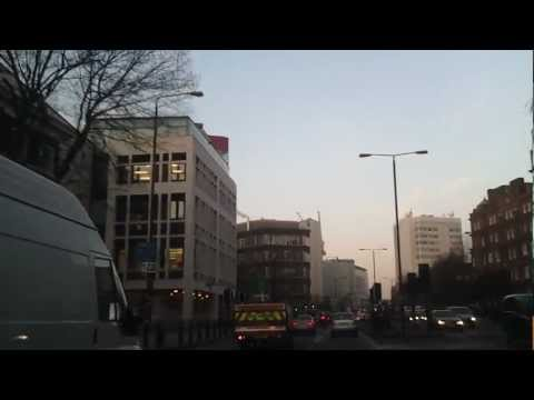 Driving in London - Hampstead Lane to White City