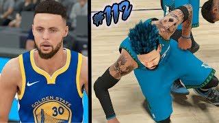 NBA 2k18 MyCAREER S2 - STEPH CURRY BROKE MY ANKLES!!! Ep. 112