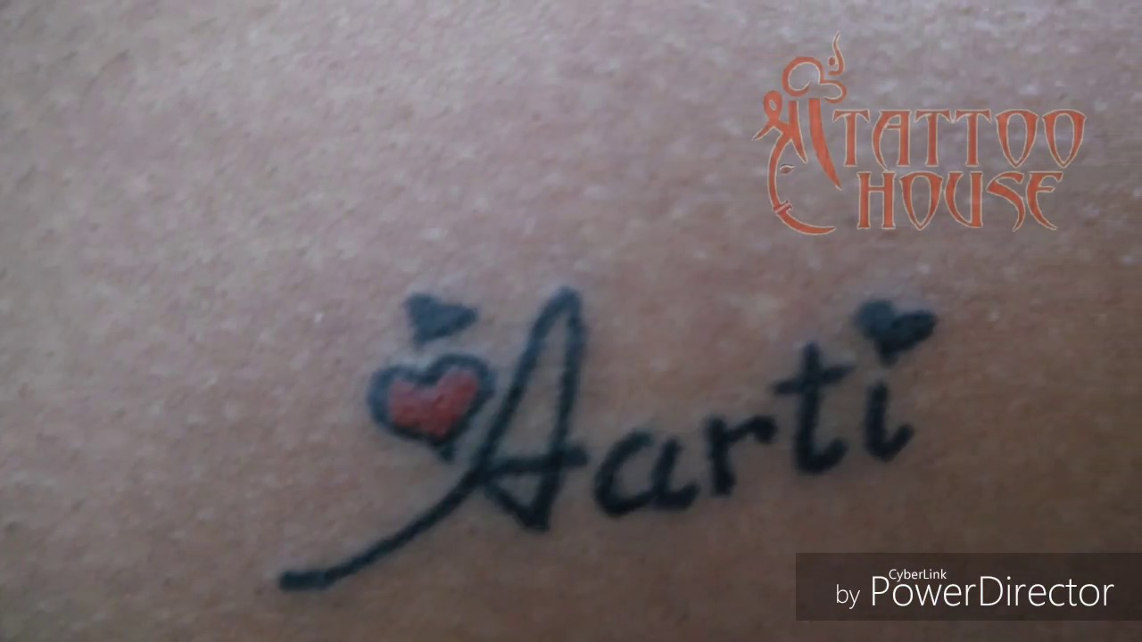 Aarti Name Tattoo Images