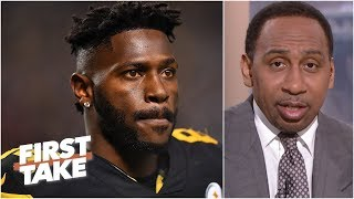 Steelers can't trade Antonio Brown - Stephen A. l First Take