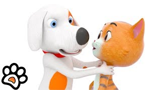 Funny Cartoons: Paw Pack Ep 2 |  Kids Shows | Nursery Rhymes & Baby Songs by Little Treehouse