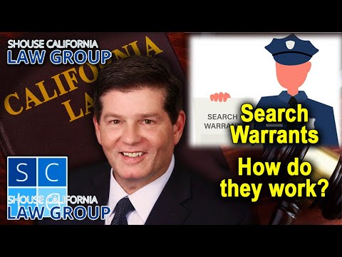 "California Laws re ""Search Warrants"""