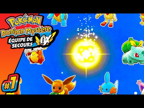 Pokémon Donjon Mystère : Equipe De Secours DX | Episode 1 | Let's Play FR | Nintendo Switch