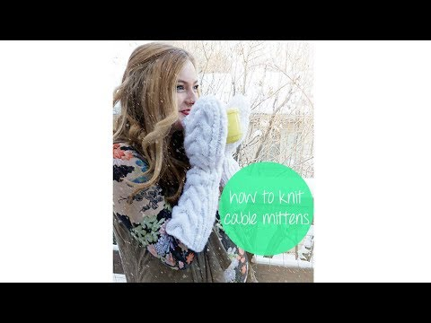 HOW TO KNIT TWILIGHT BELLA'S MITTENS