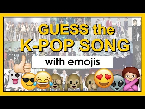 Guess The K-POP Song By Emojis