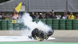 R.I.P LUIS SALOM CRASH #Moto2