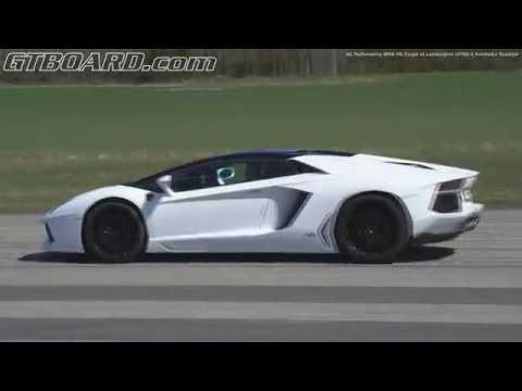 [4k] HC Performance BMW M6 Coupe Competition Package vs Lamborghini LP700-4 Aventador Roadster
