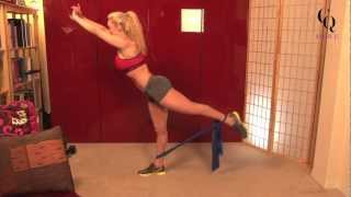Gal on the Go Thera-Band Workout