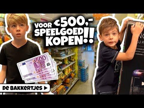 WIE ZIT HET DICHTS BIJ 500 EURO 💰 AAN SPEELGOED? - De Bakkertjes #258