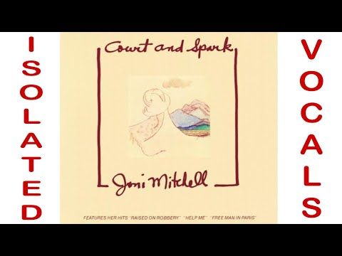 Court and Spark - Joni Mitchell - Isolated Vocal Track