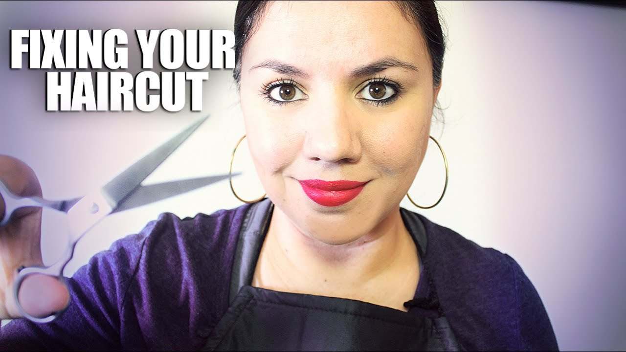 Asmr fixing your haircut hair salon role play soft for Adda beauty salon cartierul latin