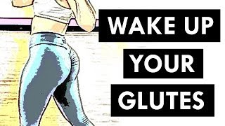 Do This To Grow Stubborn Glutes (Faster GAINS) | Quick 5 Minute Glute Activation Exercises!