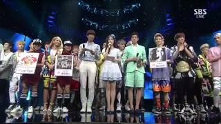 CL 0609 SBS Inkigayo 나쁜 기집애 THE BADDEST FEMALE) No 1 of the Week   YouTube