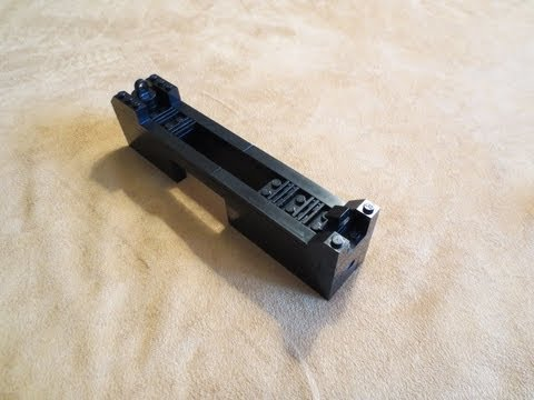 Lego: Micro Uzi Instructions 3/5 - Upper Receiver - YouTube