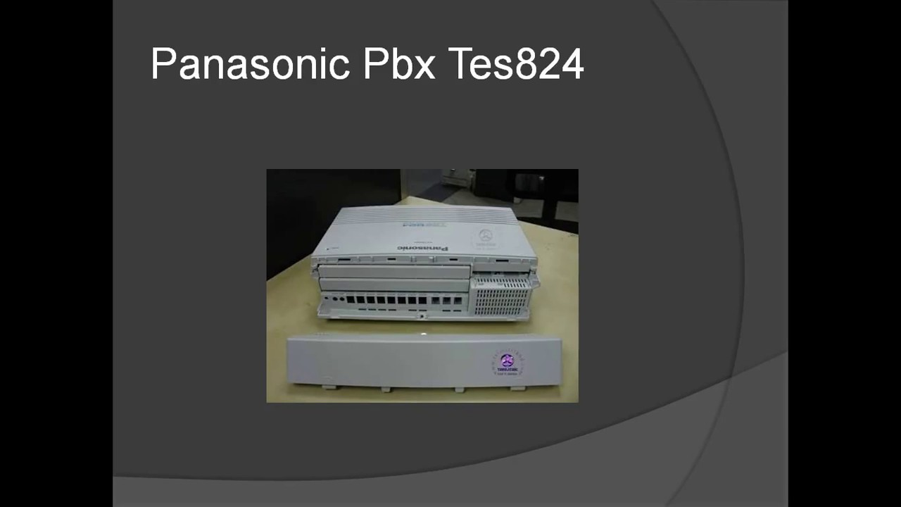 Panasonic Pbx Wiring Diagram Radio And Cd Player Intercom Complete Youtube Rh Com Microwave Car Stereo