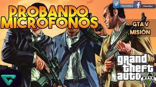 Prueba de MICROFONOS | GTA V PS4