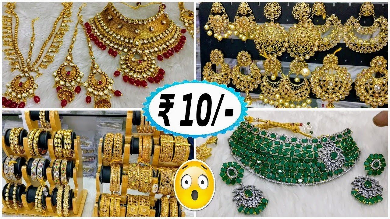 4d1ffc0559a18 Artificial jewellery market |Jewellery Wholesale Market In Sadar Bazar |  Jewellery Collection 2018