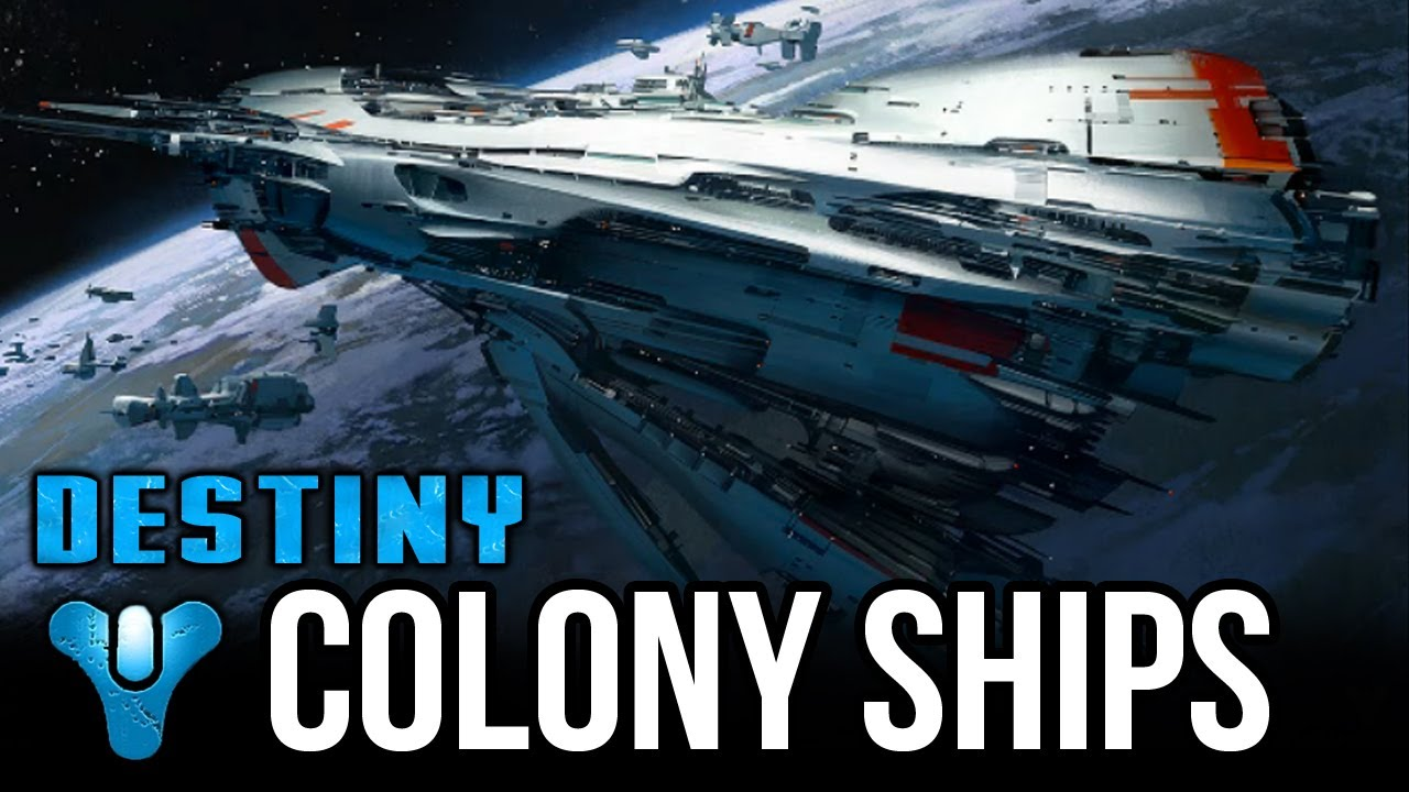 Destiny Colony Ships Back Story Gambling Youtube