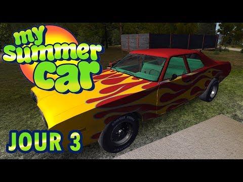 MY SUMMER CAR : #3 - LA CLASSE AMERICAINE ! [FR]