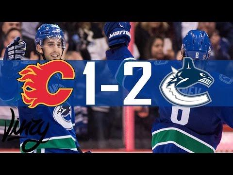 Canucks vs Flames   Highlights   Oct. 15, 2016 [HD]