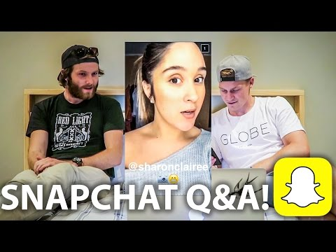 SNAPCHAT Q&A WITH SP!