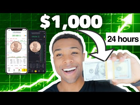 I Tried Day Trading The RISKIEST Penny Stocks With $1,000 For 24 Hours (Complete Beginner)