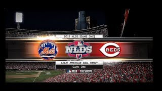 NLDS Game 1: Mets vs. Reds-Part 1