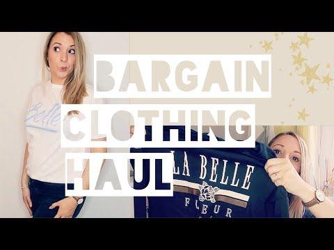 Bargain Clothing Haul & Try On!