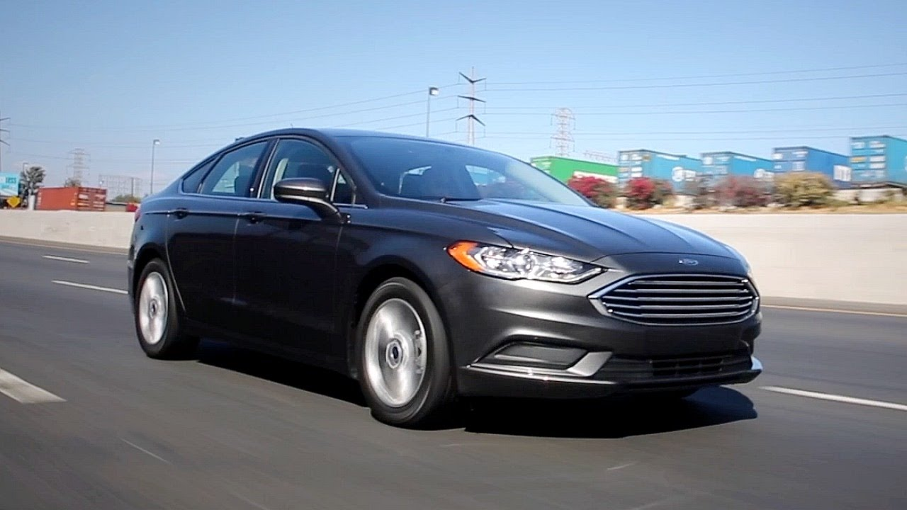 2017 ford fusion review and road test