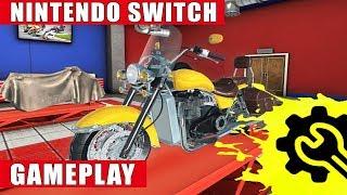 Motorcycle Mechanic Simulator Nintendo Switch Gameplay