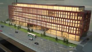 Архитектурный макет бизнес-центра класса А «ALСON 2»