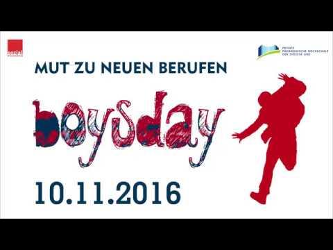Boysday An Der PH Linz 10.11.2016