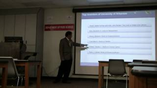 Dr.Rajeev Kumar Kapoor, of Maharshi Dayanand University, Rohtak at UARK, United States.