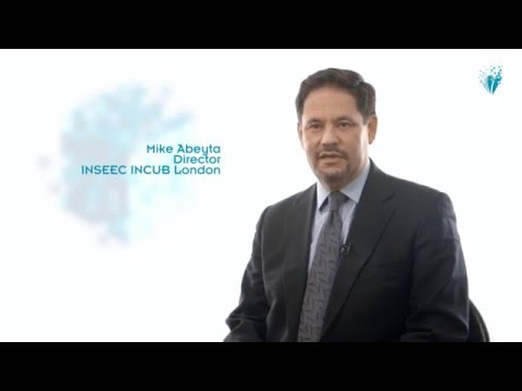 Introducing the incubator with Mike Abeyta  | INSEEC London
