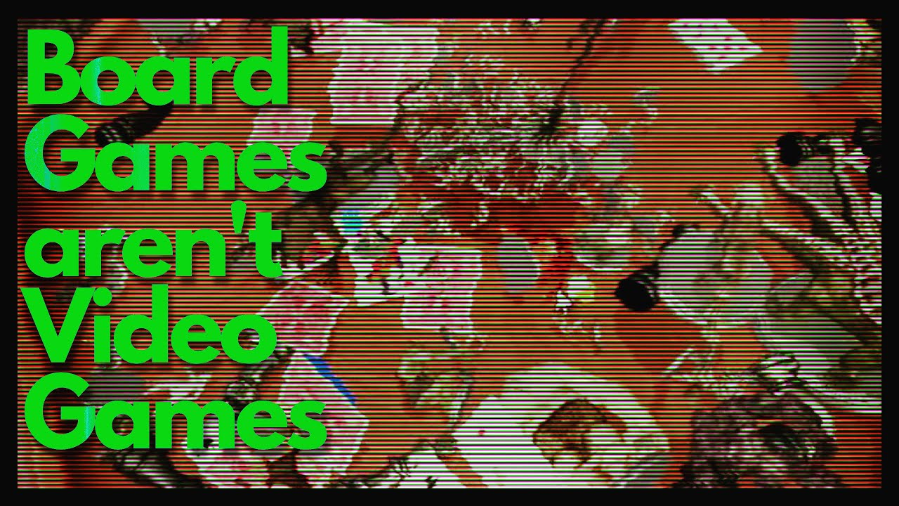 Board Games aren't Video Games  - Drive Thru Mini Vlog #6