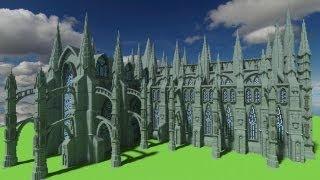 minecraft cathedral epic blocks castles place google worship digital
