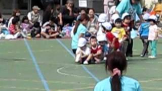 2010年 運動会 ソウォニのお片づけ競走