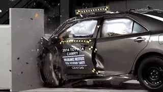 2014-2017 Toyota Camry/Hybrid IIHS Narrow-Overlap Crash Test