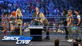 WWE Backlash Six-Woman Tag Team Match Contract Signing: SmackDown LIVE, May 16, 2017