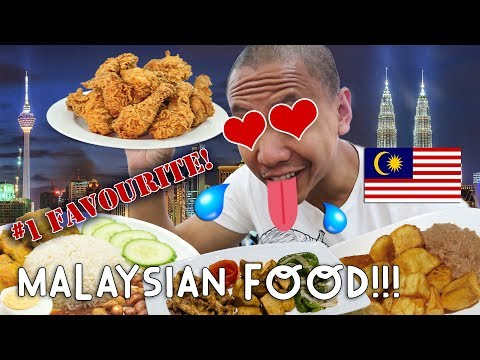 OMG! #1 FAVORITE ASIAN FOOD: MALAYSIAN! | Vlog #11