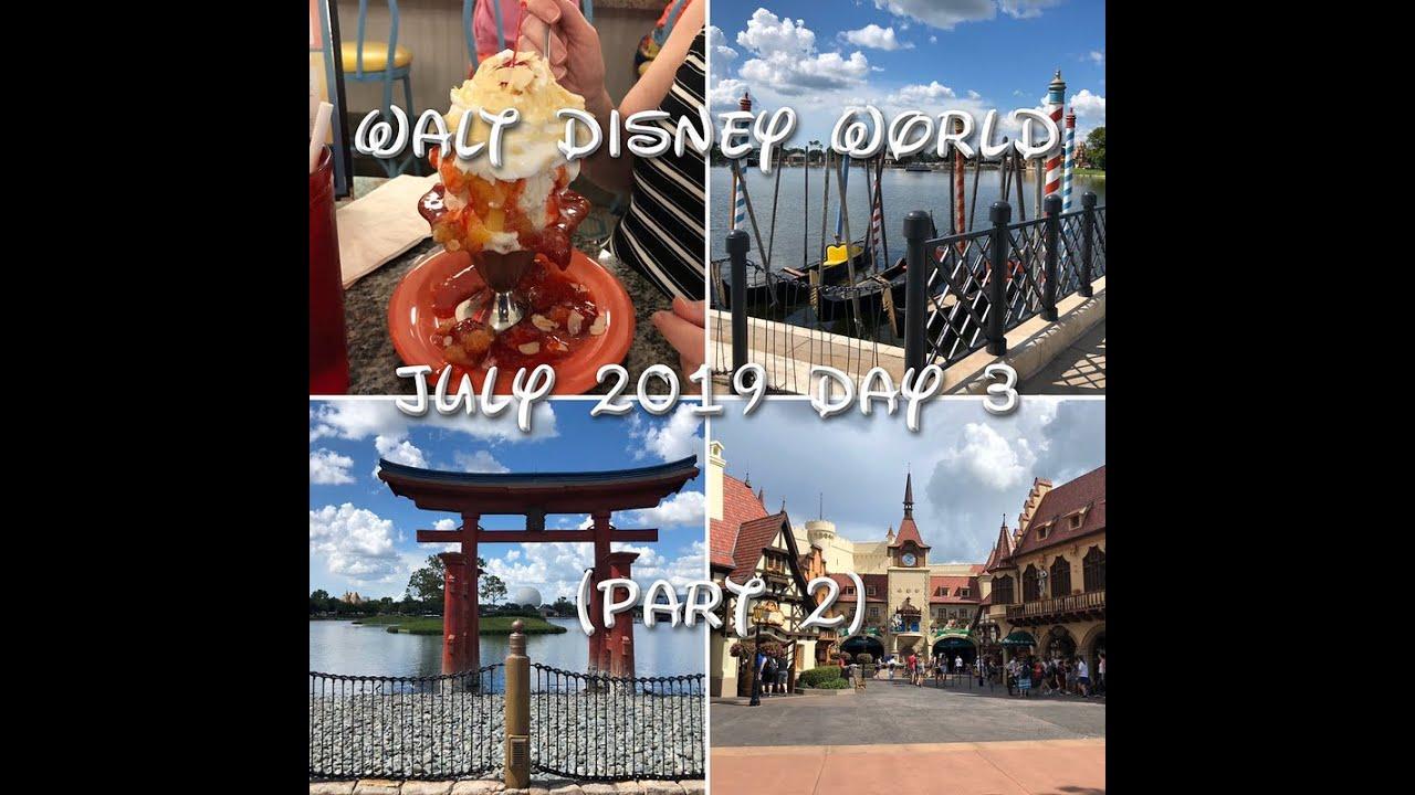 walt disney world park hours july 2019