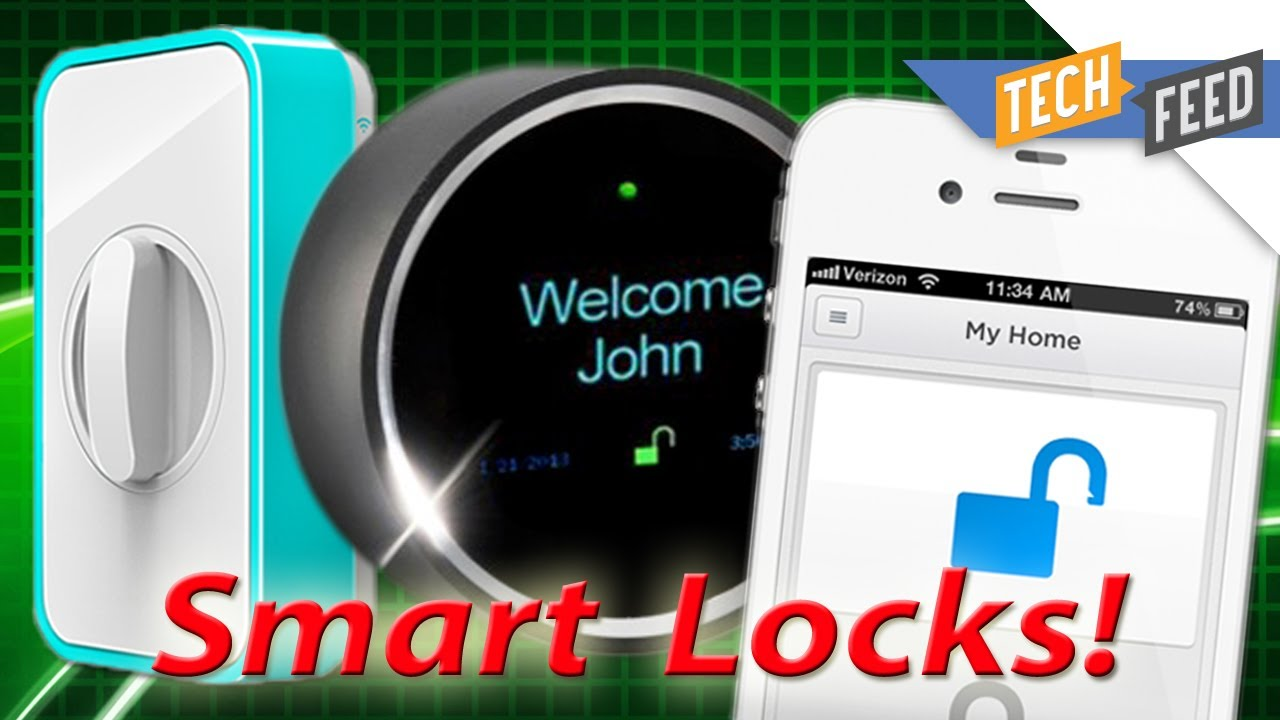 High Quality Unlock Your Front Door With Your Smartphone!